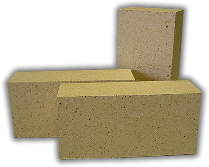 Refractory brick medium duty firebrick