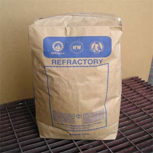 hydraulic cold-set bonded refractory mortar to be used as an outdoor refractory mortar.  can be used for pizza ovens